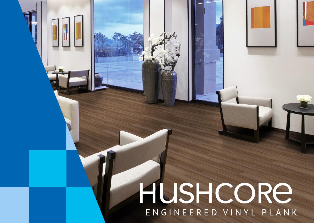 HushCore Engineered Vinyl Plank
