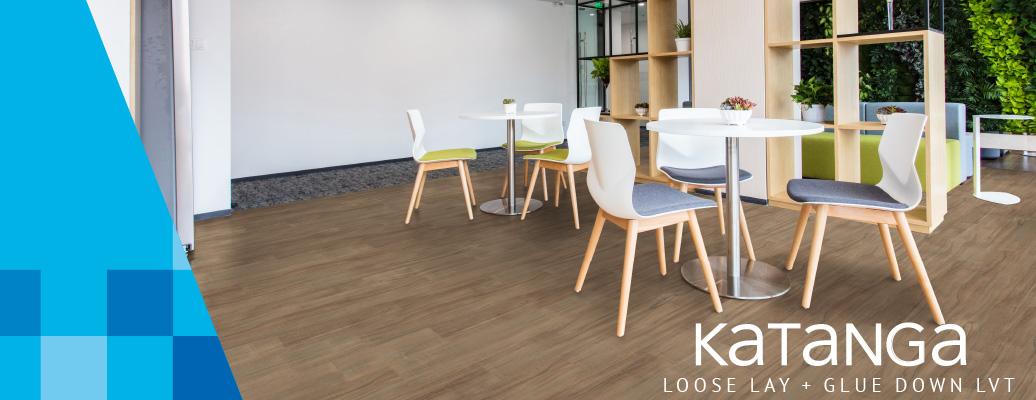 Katanga Loose-Lay and Glue Down LVT